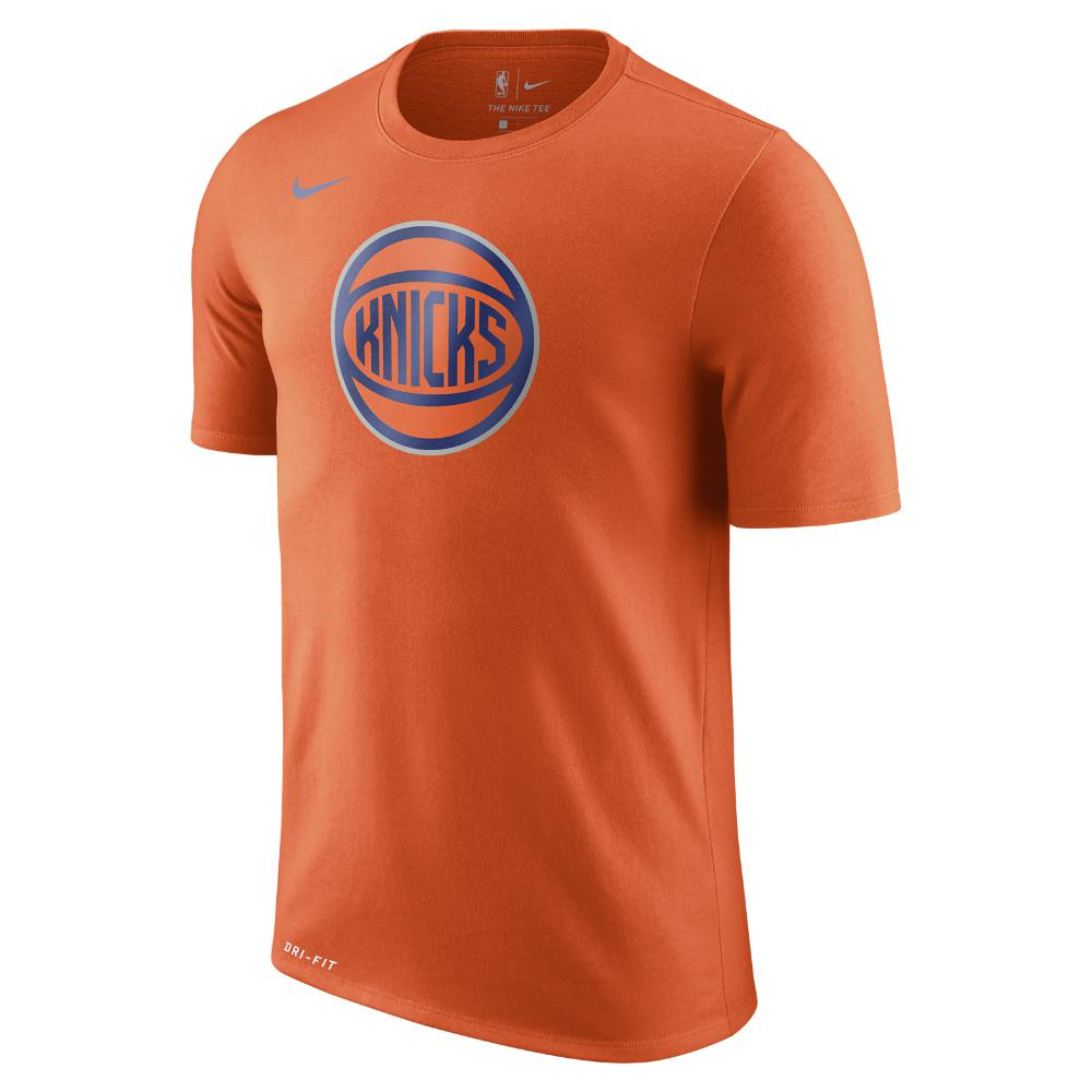 eb39e87df1b Lyst - Nike New York Knicks Dry Logo Men s Nba T-shirt in Orange for Men