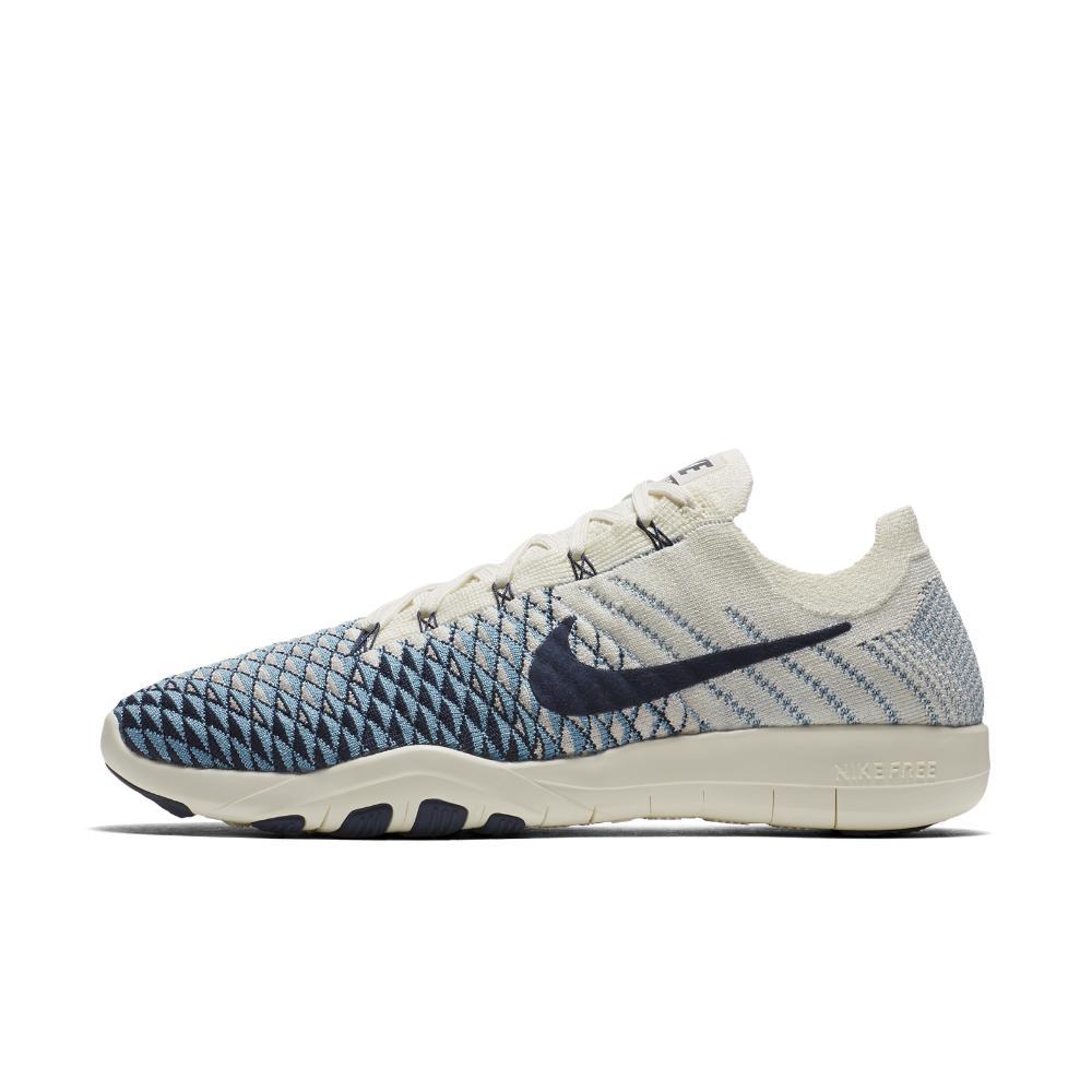 Lyst - Nike Free Tr Flyknit 2 Indigo Women s Training Shoe in Blue 9b07b5403
