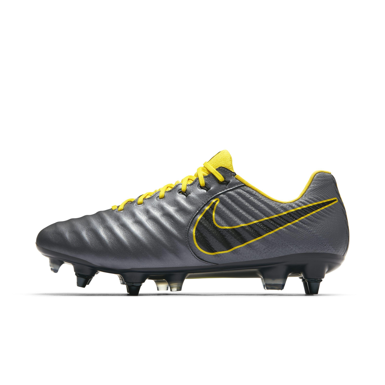 new product c3487 ce3a9 Nike. Men s Gray Tiempo Legend Vii Elite Sg-pro Anti-clog Soft-ground ...