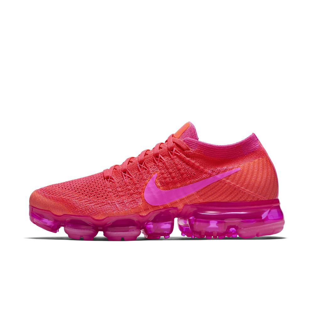 7e17802a4df13 Lyst - Nike Air Vapormax Flyknit Women s Running Shoe in Pink