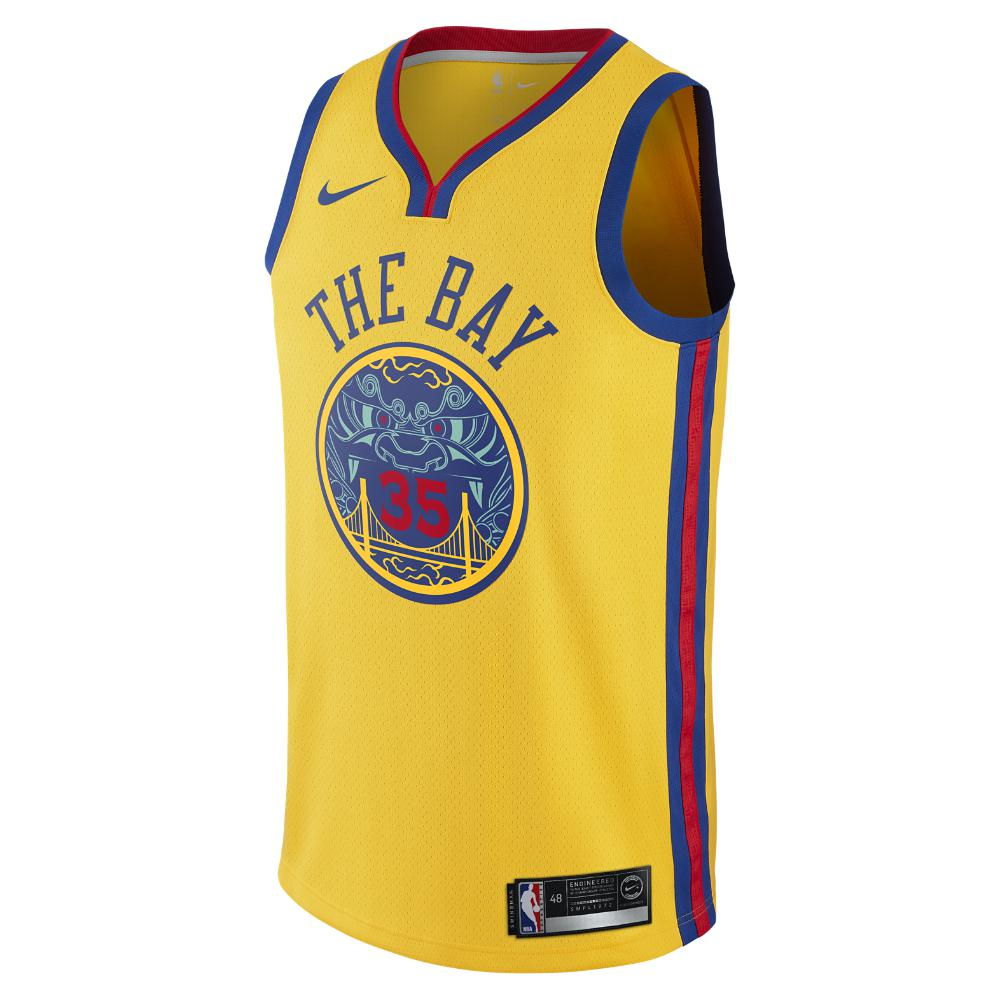 db1199641 Nike. Yellow Stephen Curry City Edition Swingman Jersey (golden State  Warriors) ...