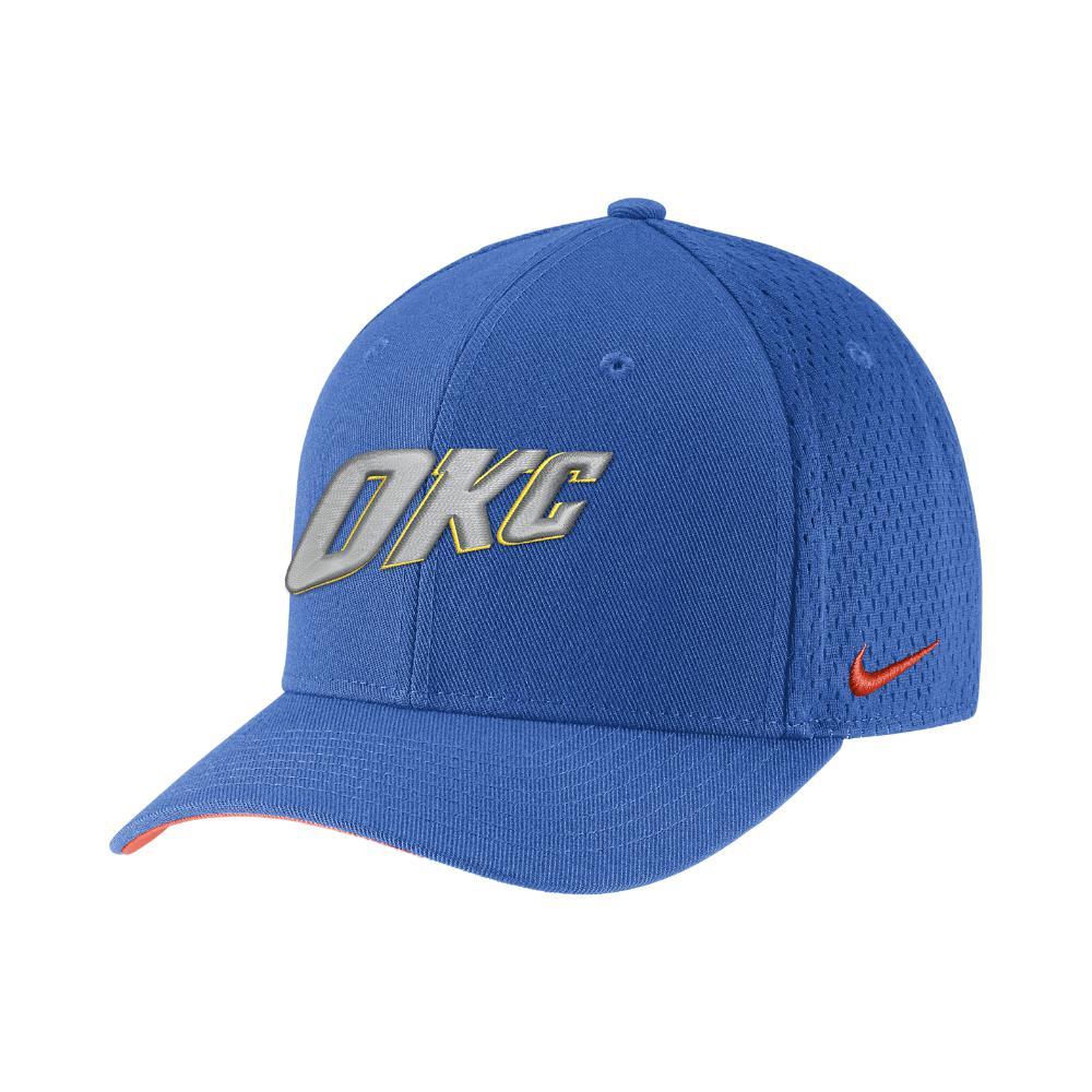 803e7406ecf Nike. Men s Oklahoma City Thunder City Edition Classic99 Nba Hat (blue) - Clearance  Sale