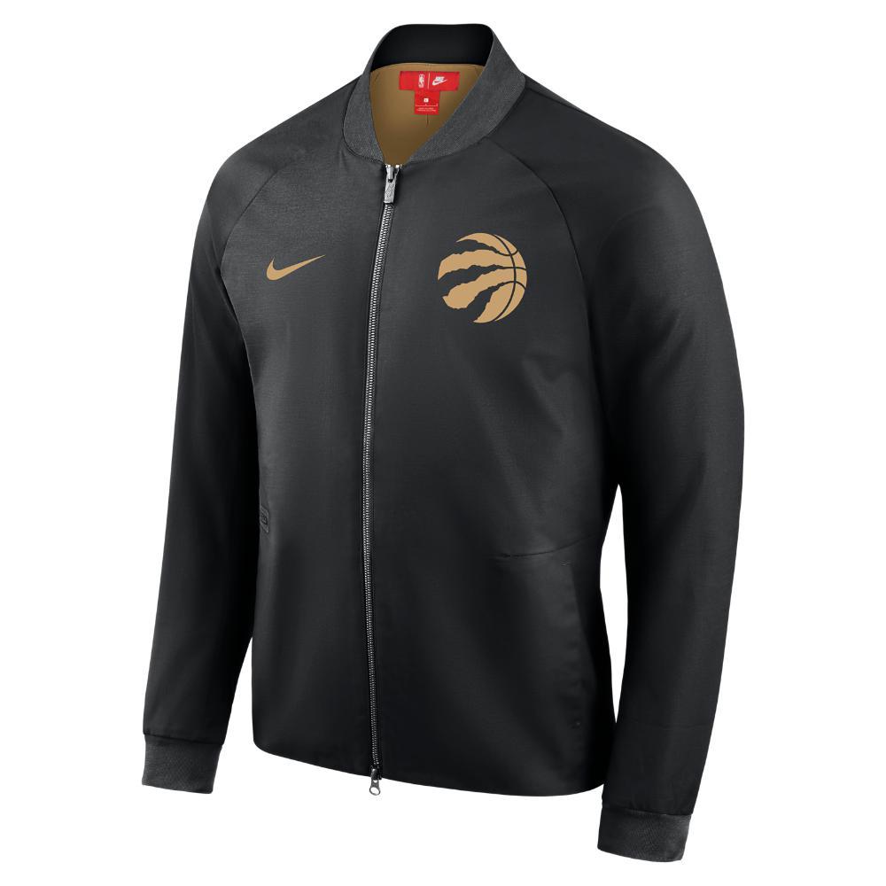 1bac5df26 Nike Toronto Raptors City Edition Modern Men s Nba Varsity Jacket in ...