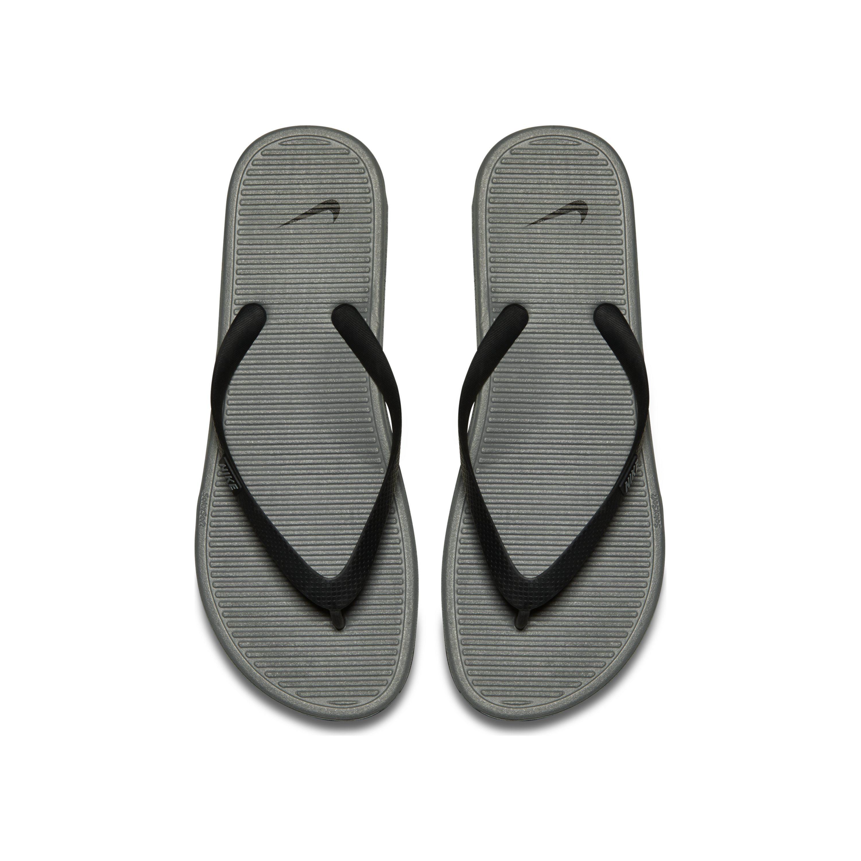 7add63267cb Nike Solarsoft Ii Flip Flop in Black for Men - Save 13% - Lyst