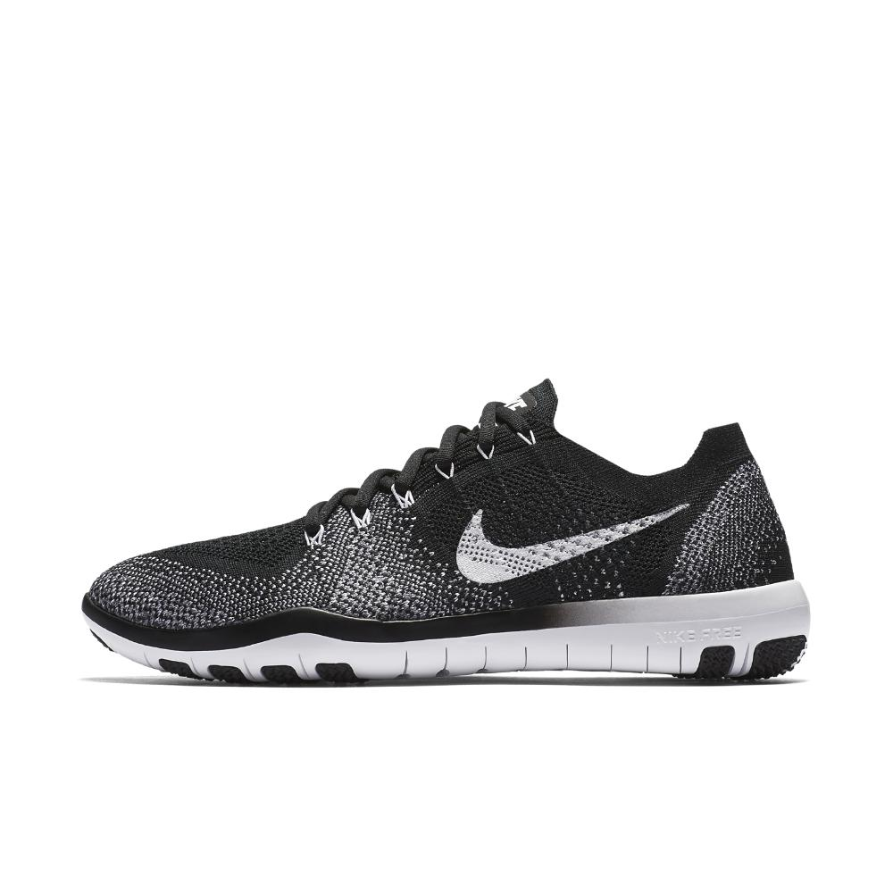 6a9161d77dc5 Lyst - Nike Free Focus Flyknit 2 Women s Training Shoe in Black