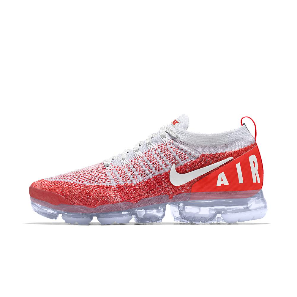 b85e2605cd8a Lyst - Nike Air Vapormax Flyknit 2 Id Men s Running Shoe in Red for Men