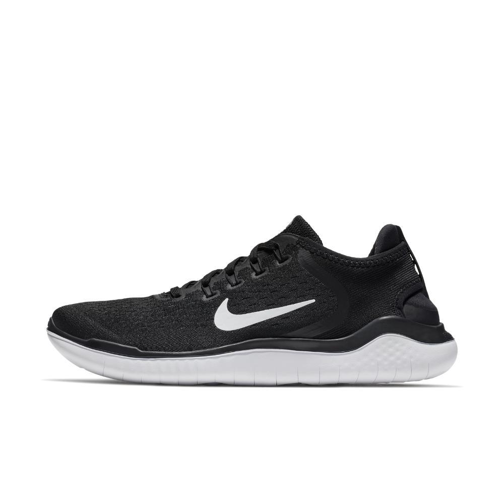 Nike. Men's Black Free Rn 2018 Running Shoes