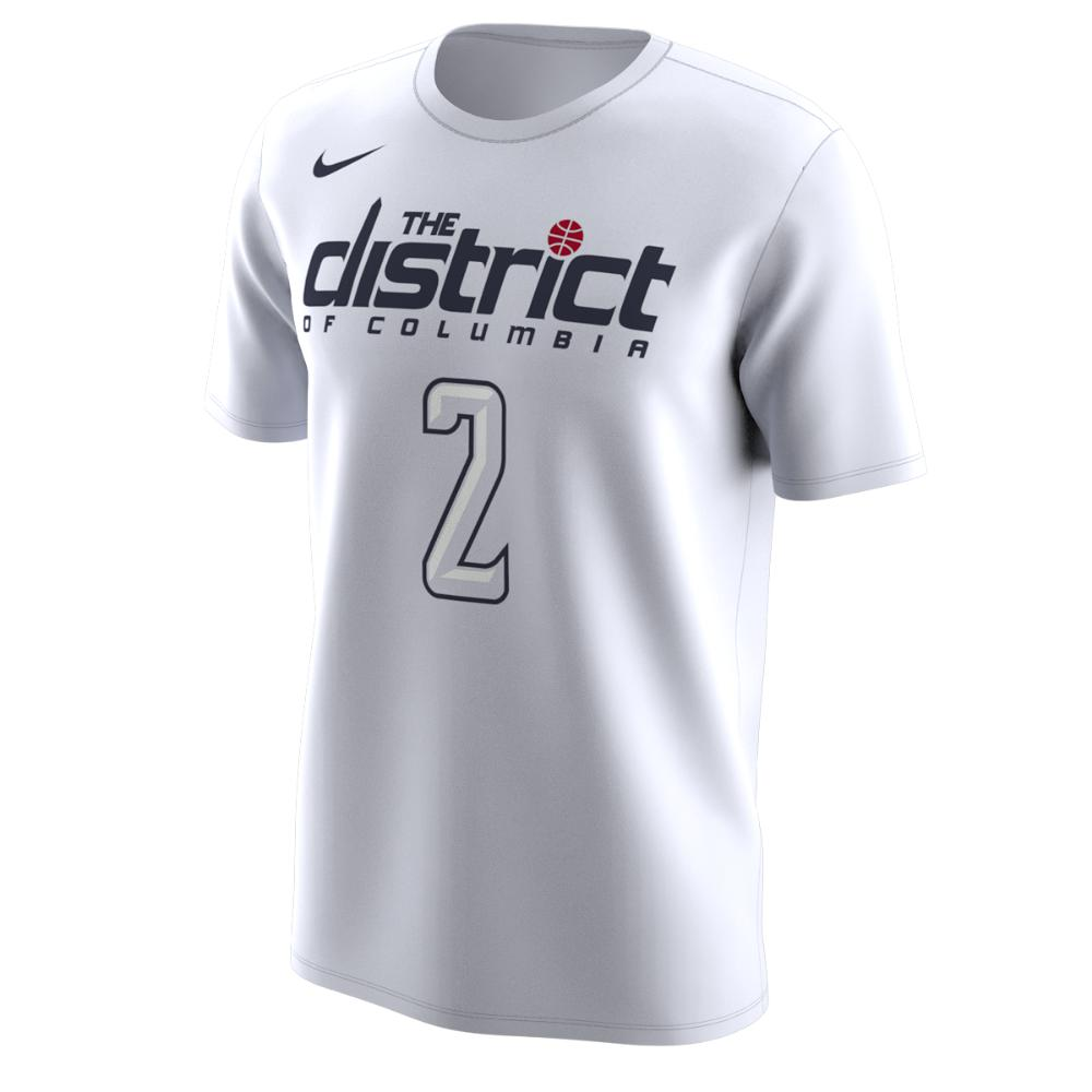 18100111e Nike Washington Wizards City Edition (john Wall) Dri-fit Men s Nba T ...