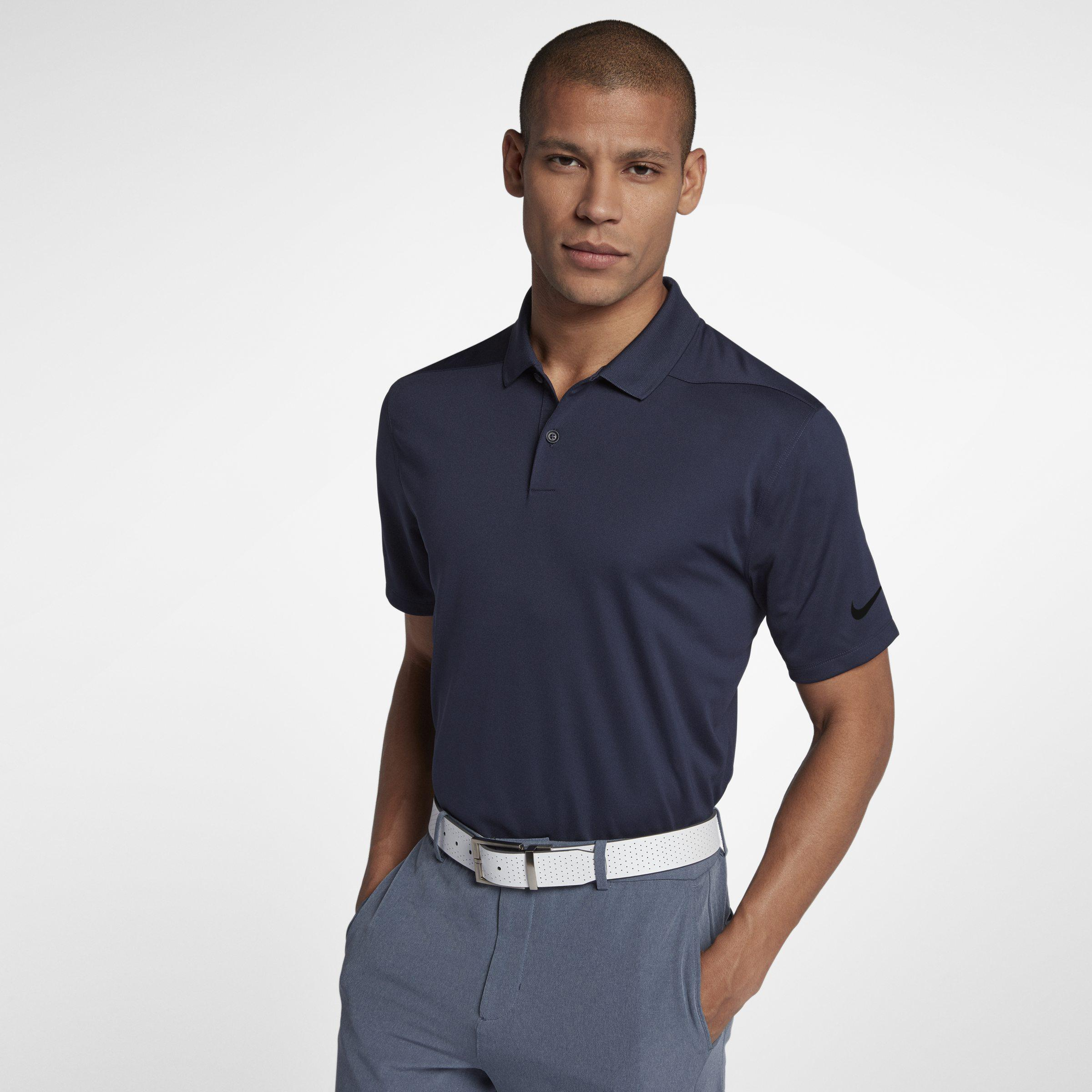 a77b3d87f035f Nike Dry Victory Men s Standard Fit Golf Polo Shirt in Blue for Men ...