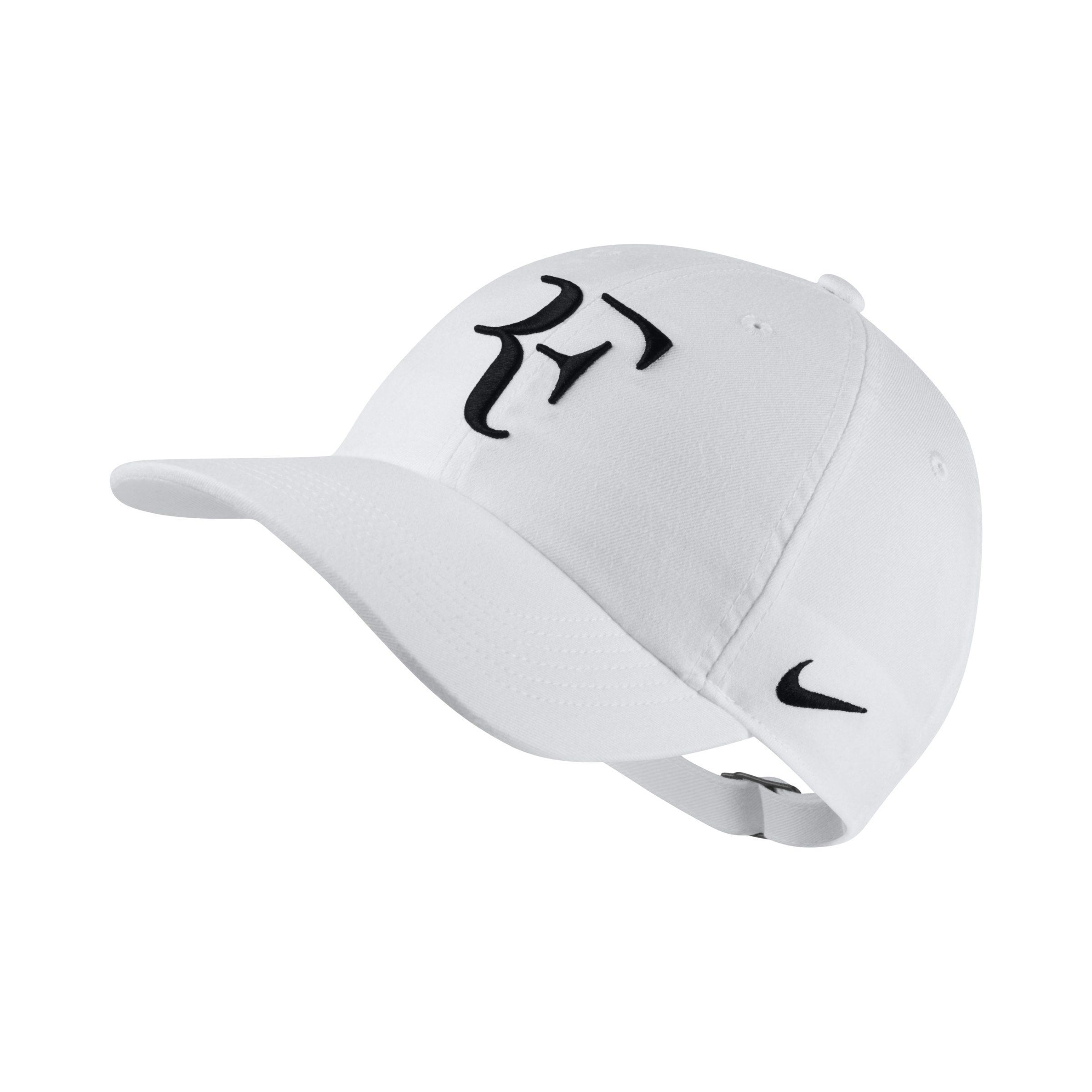 efe4fcb991b Nike Court Rf Aerobill H86 Adjustable Hat in White for Men - Lyst