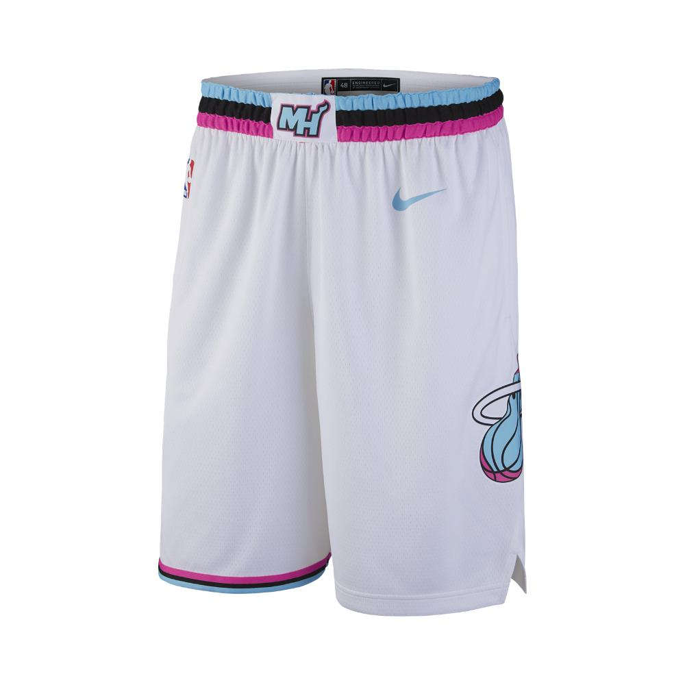 b9948fb5d Lyst - Nike City Edition Swingman (miami Heat) Men s Nba Shorts in ...