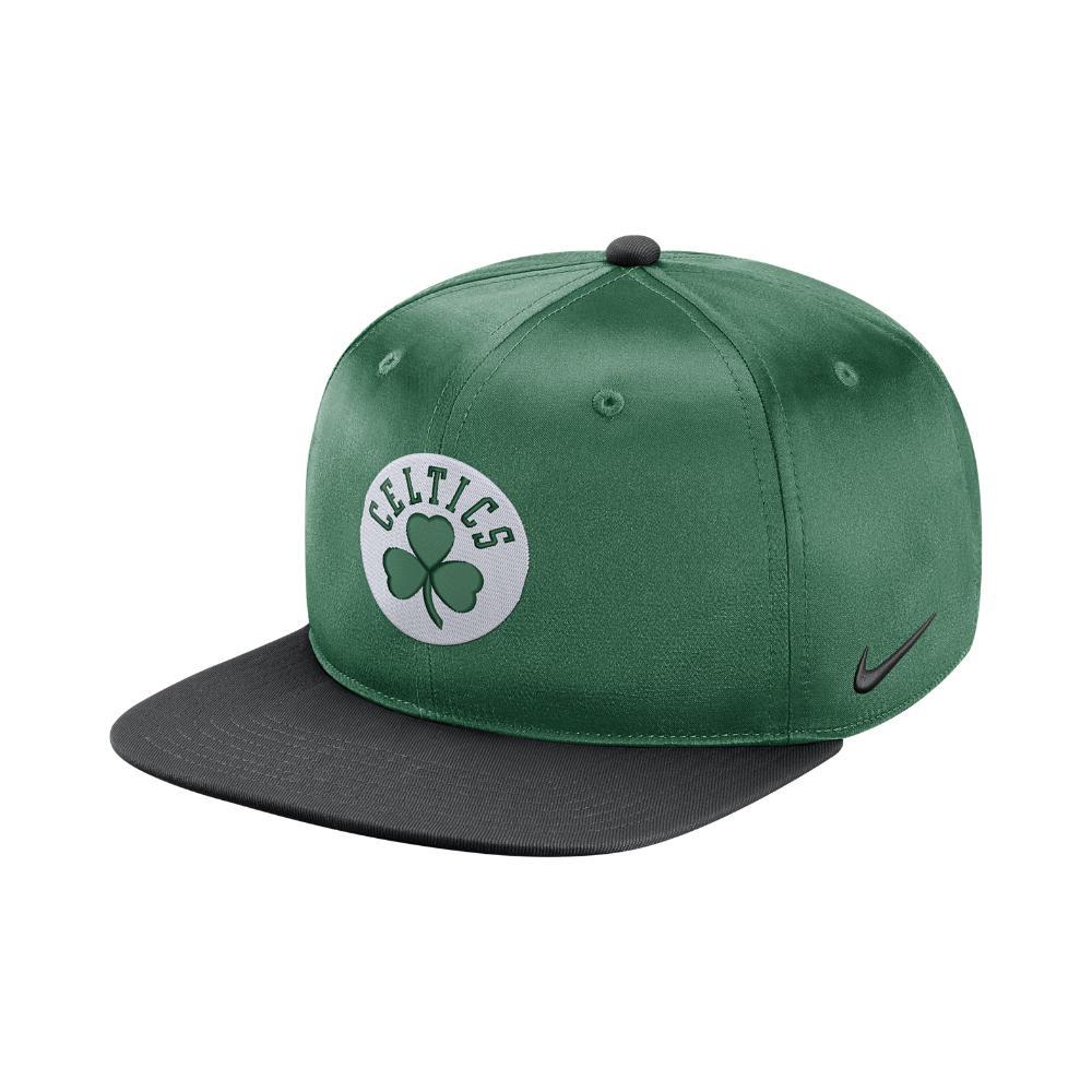 Lyst - Nike Boston Celtics Pro Adjustable Nba Hat (green) in Green ... 01912e03c3dd