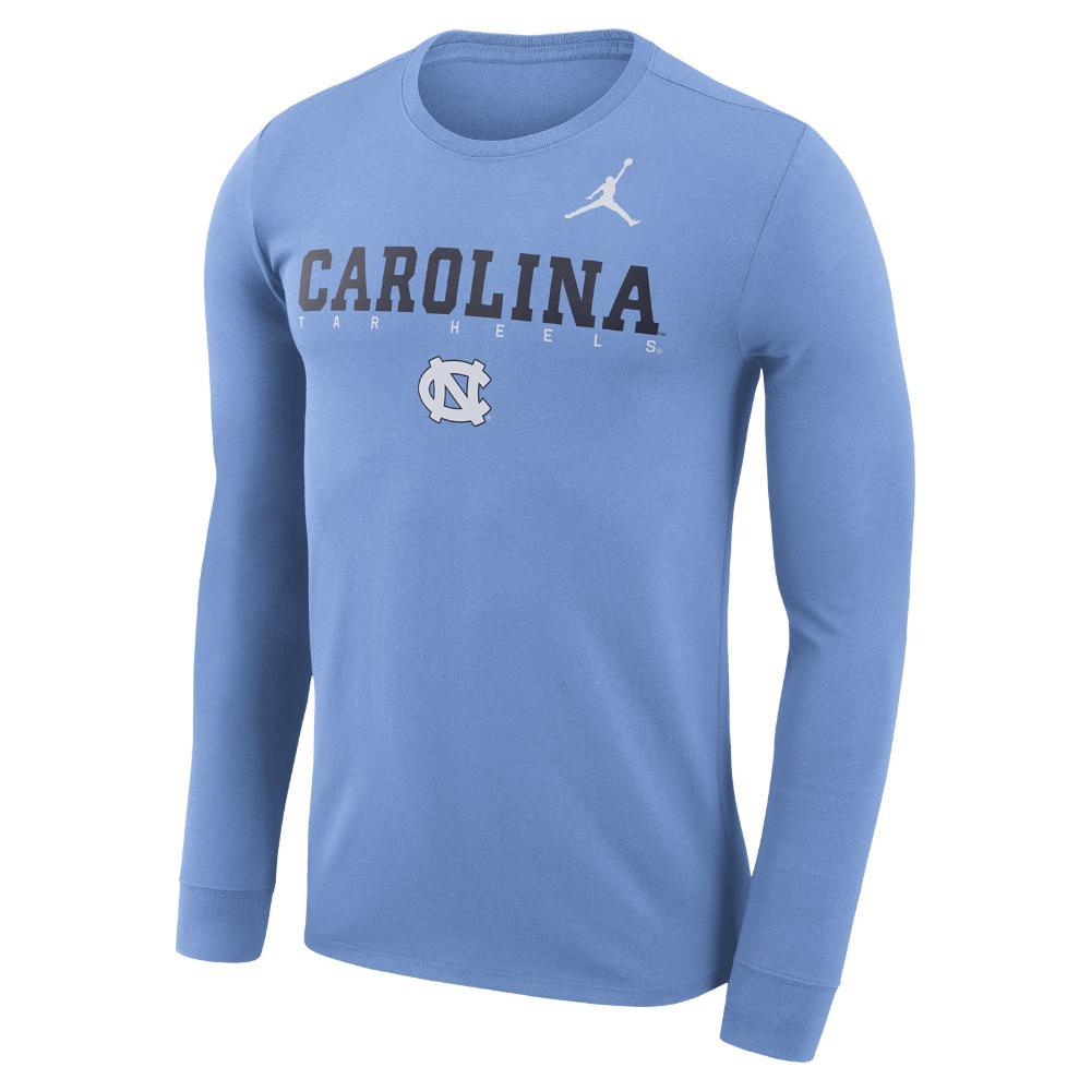 51866f1e8991 Nike - Blue College Dri-fit Facility (unc) Men s Long Sleeve T-. View  fullscreen