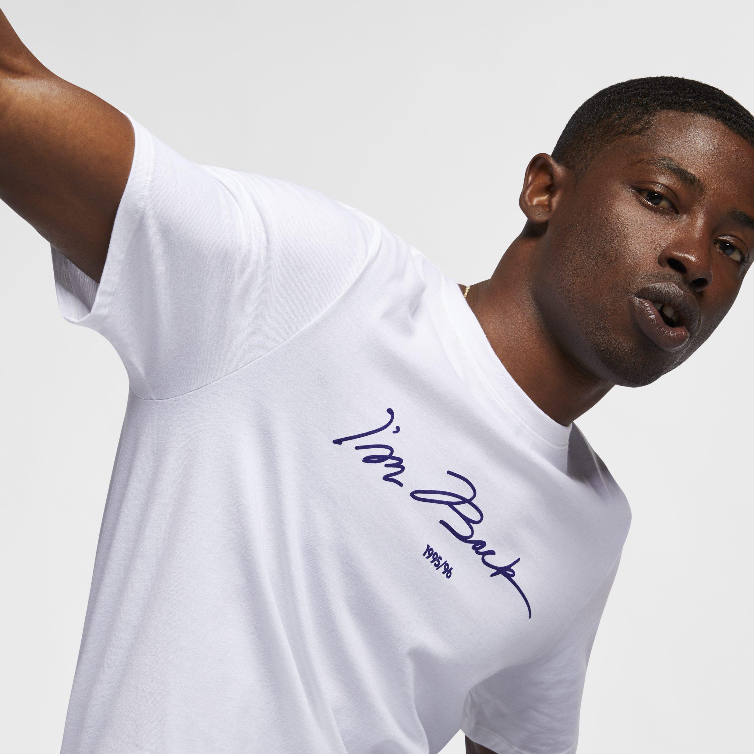 dff24514943484 Nike Jordan Sportswear Legacy Aj 11 T-shirt in White for Men - Lyst