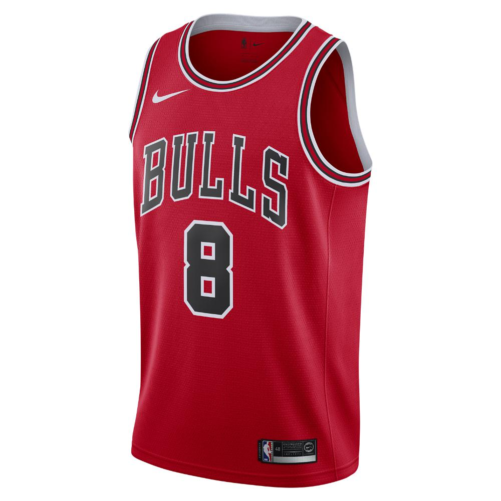 Nike. Men s Red Zach Lavine Icon Edition Swingman Jersey (chicago Bulls) Nba  Connected Jersey 08898c793