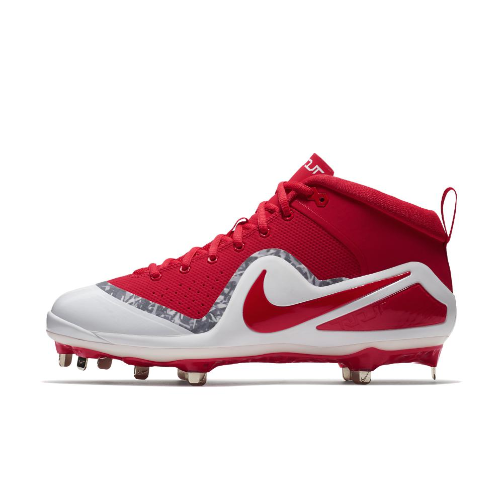 b7af9bf1a06df Lyst - Nike Force Zoom Trout 4 Men s Baseball Cleats in Red for Men