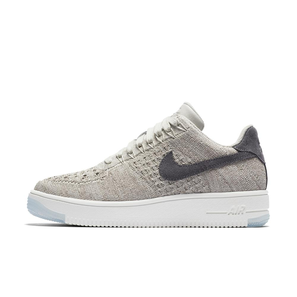 6bb1f718548d4 Lyst - Nike Air Force 1 Flyknit Low Women s Shoe in Gray