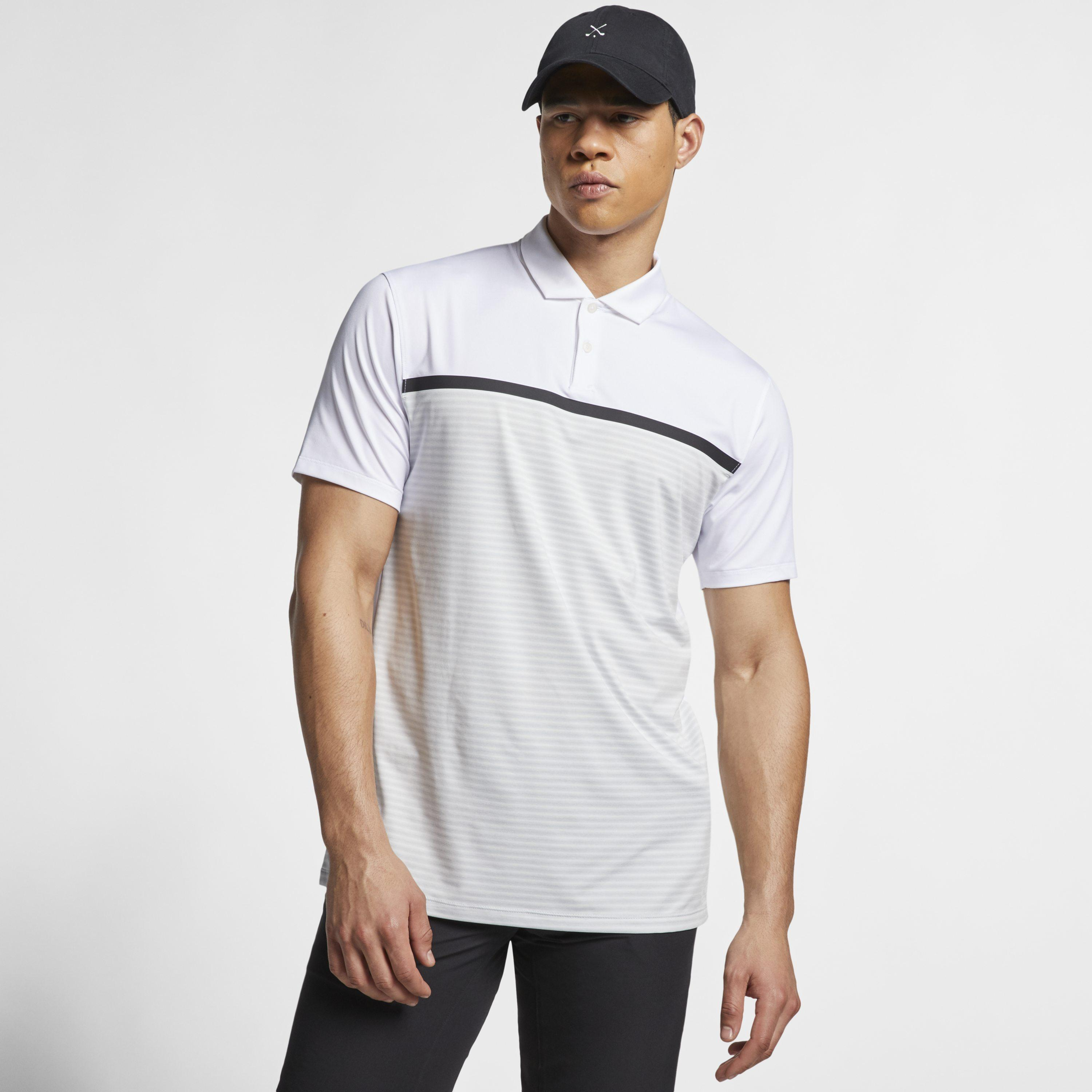 df95392d1 Nike Golf Dri-fit Short-sleeve Tw Vapor Colorblock Polo in White for ...