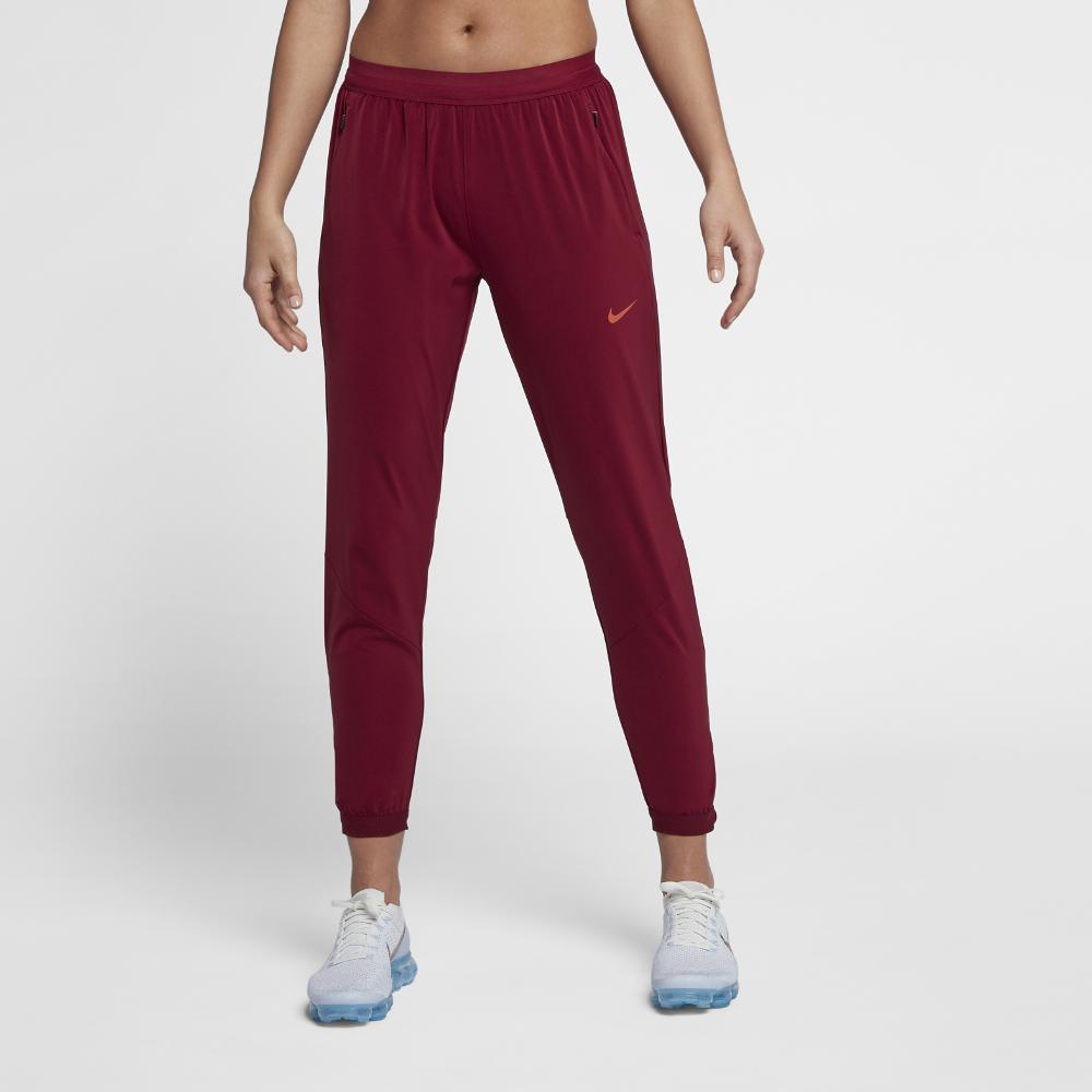 c14f2a91a605 Lyst - Nike Women s Running Pants in Red
