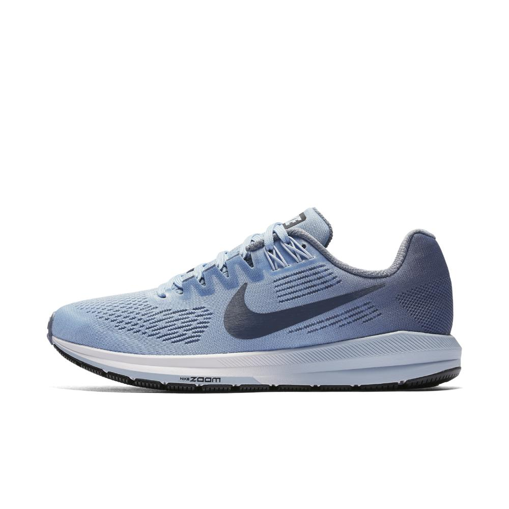 Nike. Blue Air Zoom Structure 21 (narrow) Women's Running Shoe