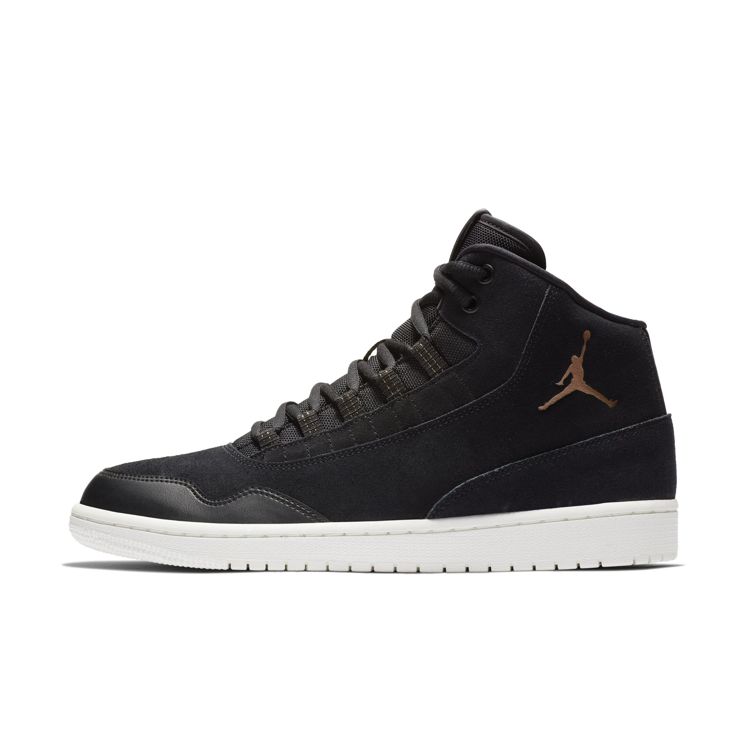 check out bd56d d84d2 Nike. Men s Black Jordan Executive Shoe