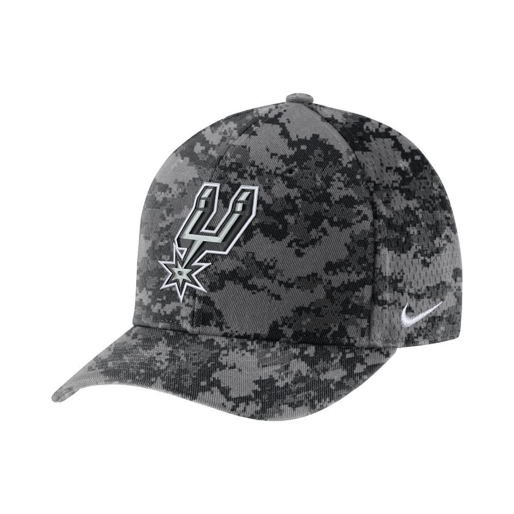 ac7672a8b32 Nike - Gray San Antonio Spurs City Edition Classic99 Nba Hat (grey) -  Clearance. View fullscreen