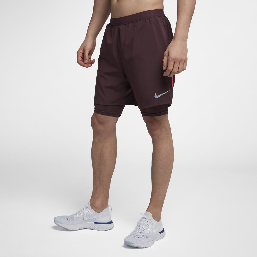 39ab3ba1762a8 Lyst - Nike Flex Stride Men s 2-in-1 Running Shorts for Men