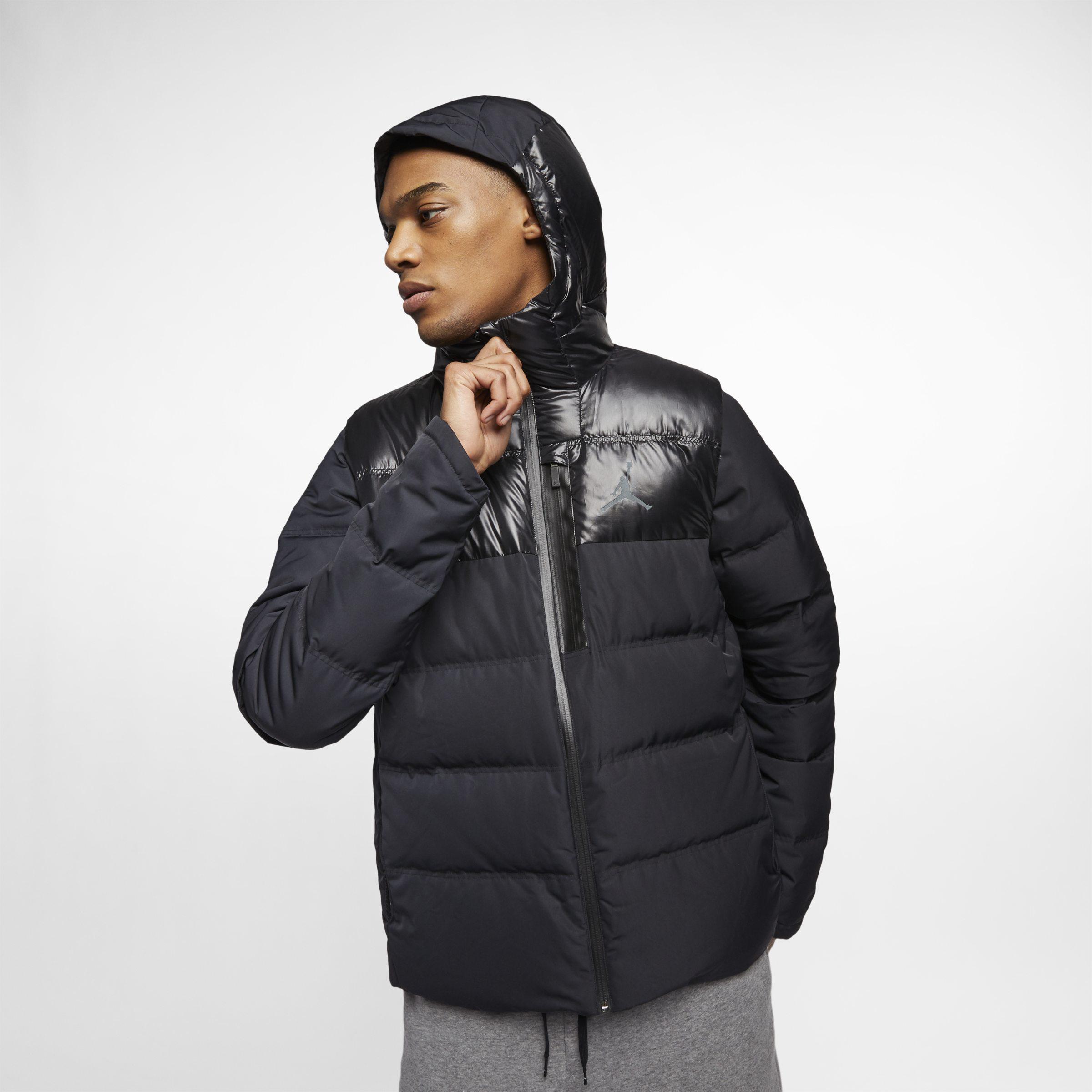 0a0b5d5b318b Nike Jordan Ultimate Flight Down-fill Jacket in Black for Men - Lyst