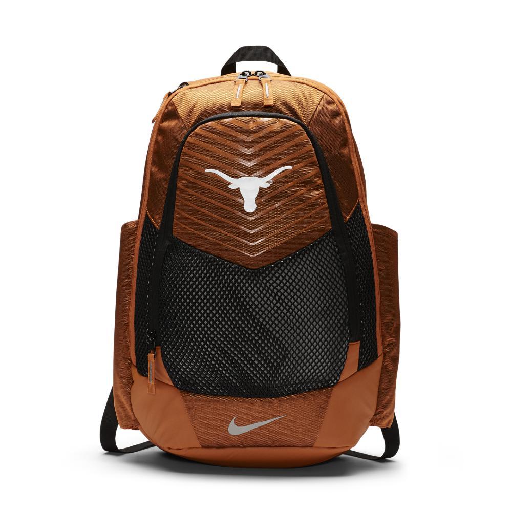 344903765350 Lyst - Nike College Vapor Power (texas) Backpack (orange) in Orange ...