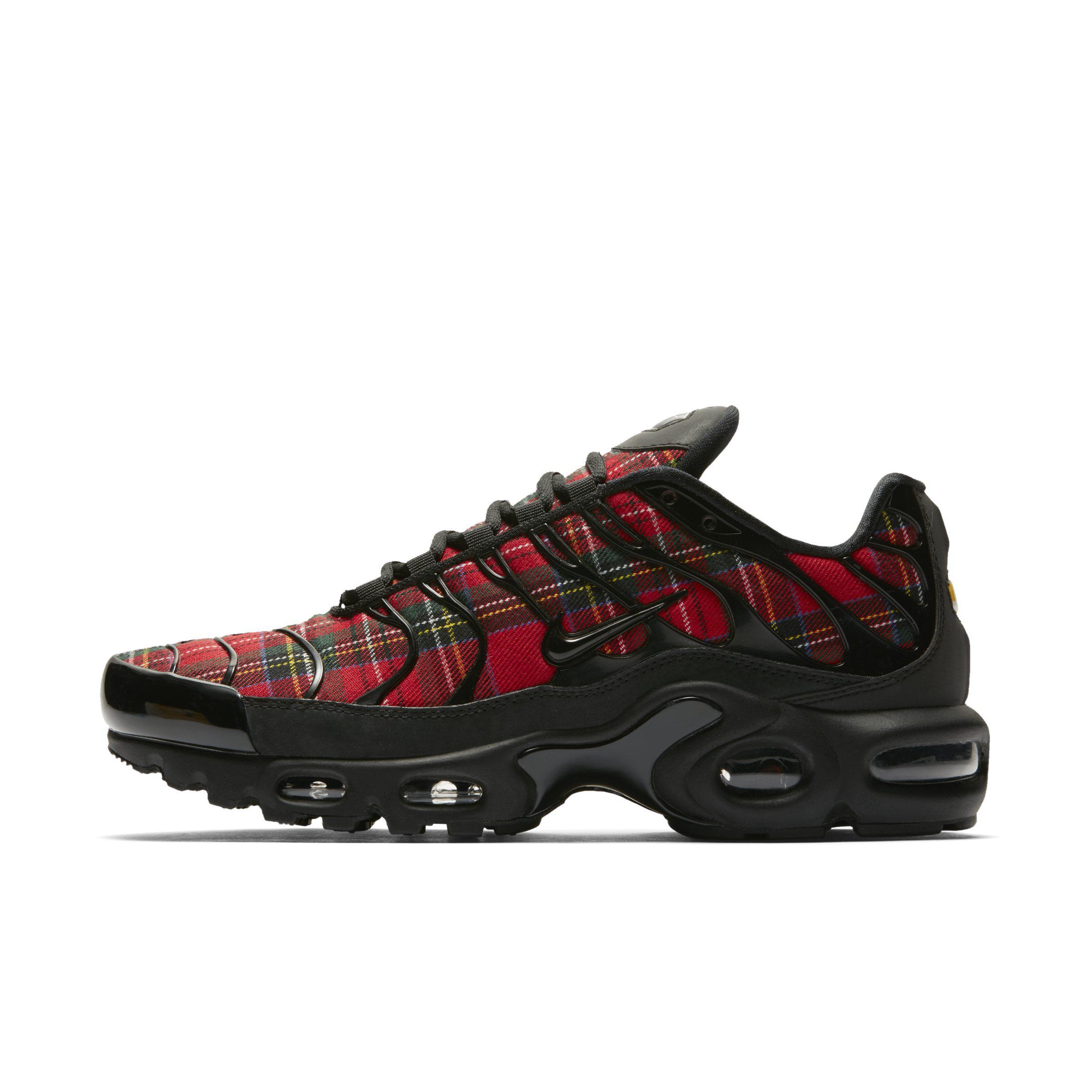 9c8098d04e Nike Air Max Plus Tn Se Tartan Shoe in Black - Lyst