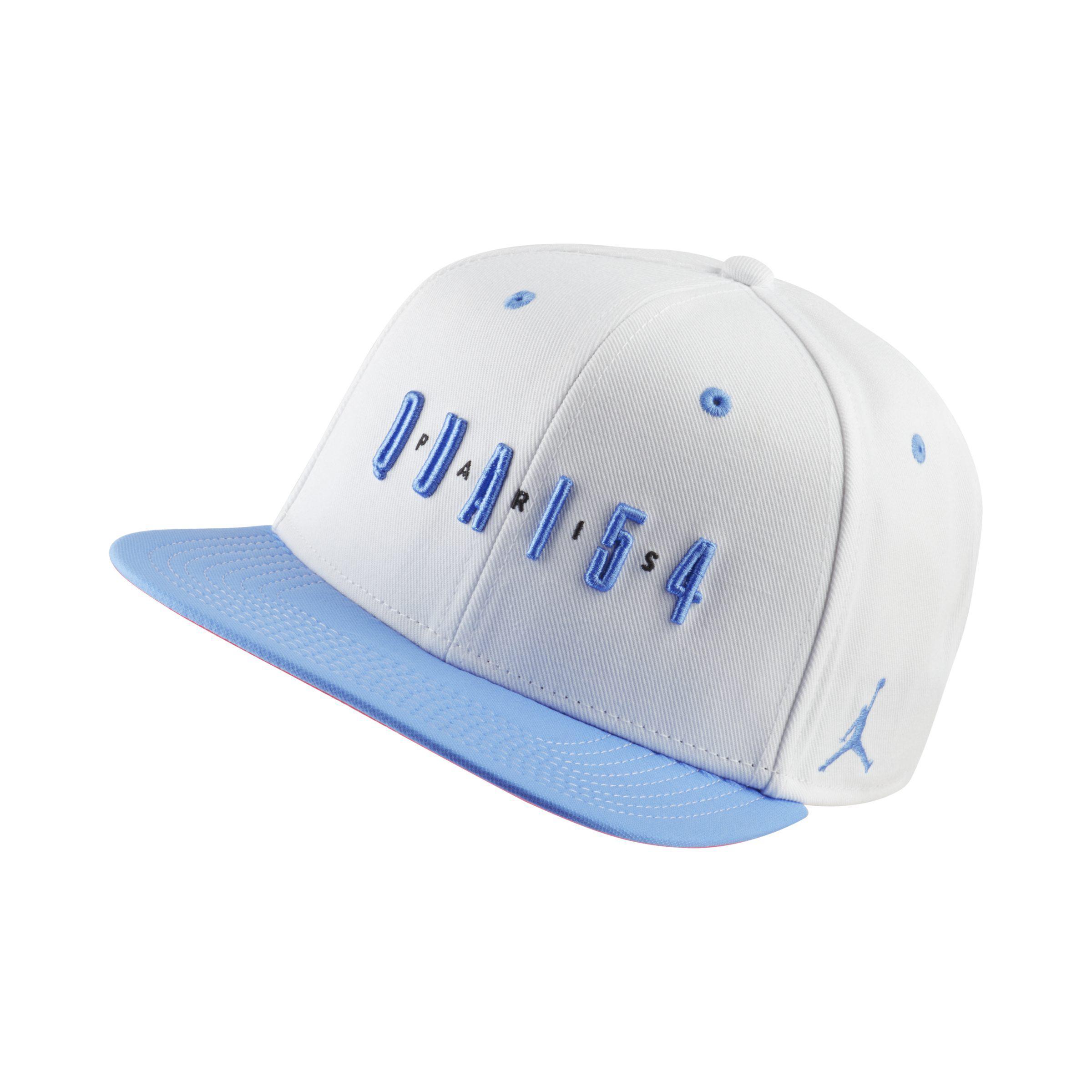 a8f318452dd Nike Jordan Quai 54 Snapback Adjustable Hat in White - Lyst