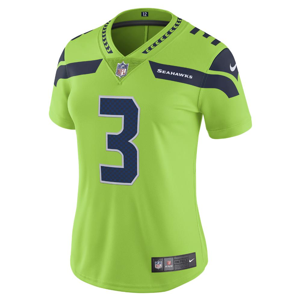 d195e976e ... coupon code for nike. green nfl seattle seahawks color rush limited  russell wilson womens football