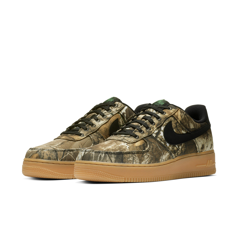 the best attitude 2a93c bd369 Nike - Black Air Force 1  07 Lv8 3 Realtree® Shoe for Men -. View fullscreen