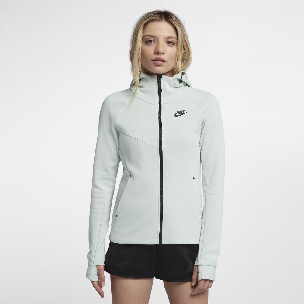 bfe400c373 Nike. Gray Sportswear Tech Fleece Windrunner Women s Full-zip Hoodie