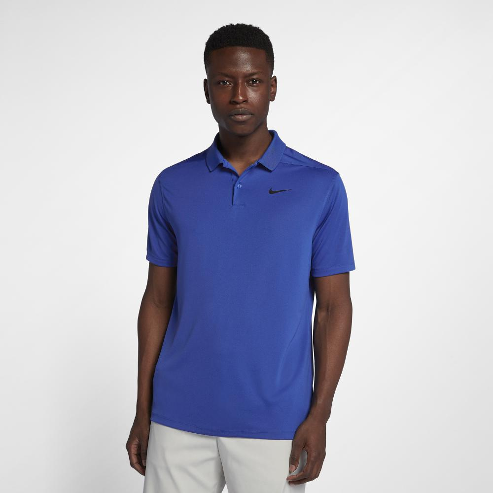 Lyst Nike Dri Fit Victory Left Chest Mens Standard Fit Golf Polo