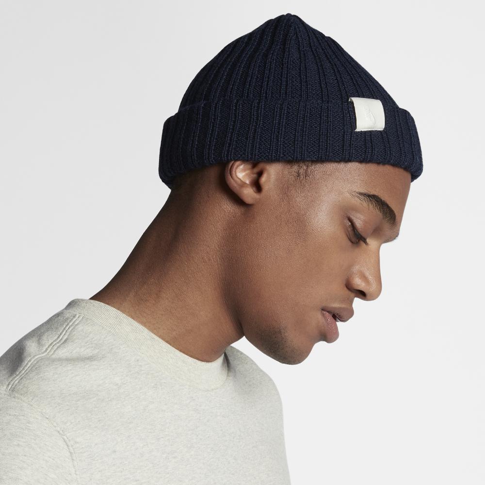 6ddeea78daeb2 Lyst - Nike Essentials Beanie Knit Hat (blue) in Blue for Men