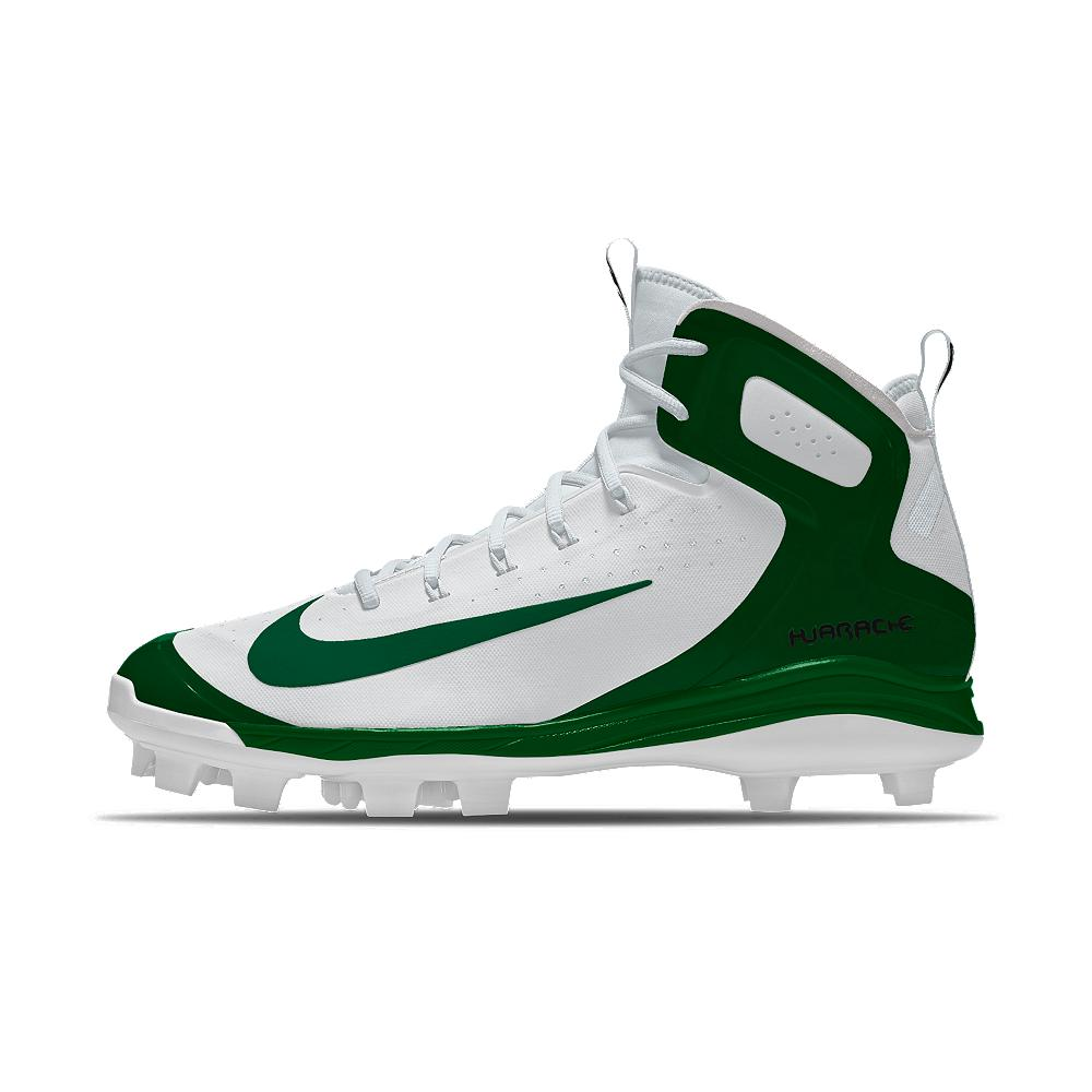 9d71c8a715d9 Lyst - Nike Alpha Huarache Elite Mid Metal Id Men s Baseball Cleats ...