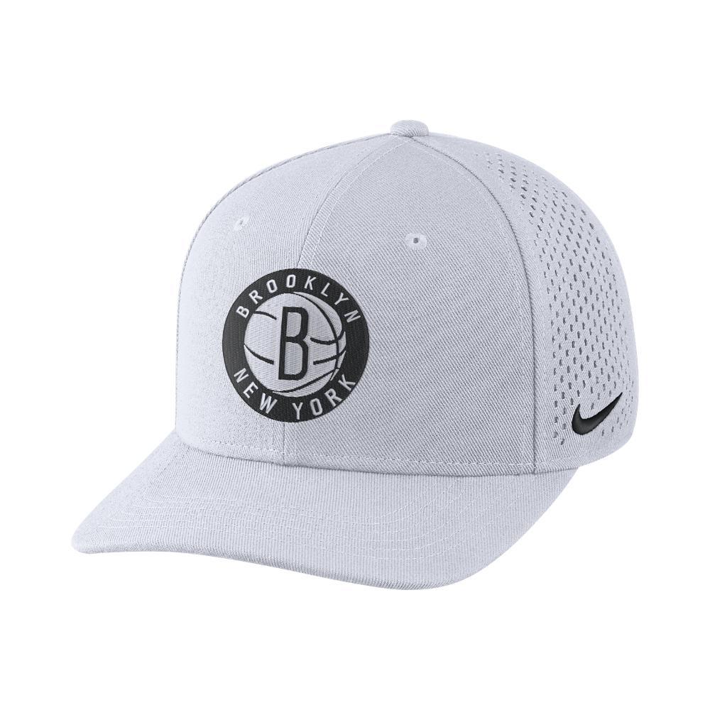 Lyst - Nike Brooklyn Nets Aerobill Classic99 Adjustable Nba Hat ... 210aaad851a