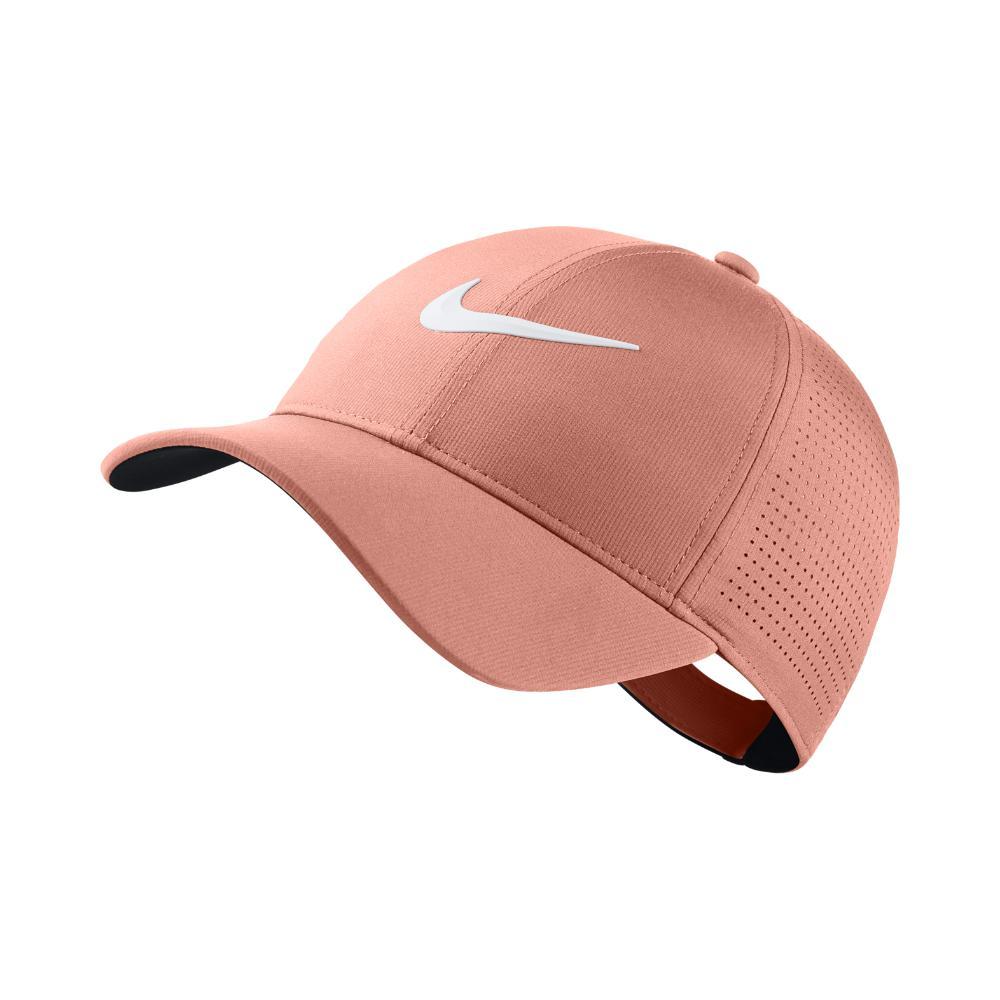 eee40531cd1 Nike. Women s Aerobill Legacy 91 Adjustable Golf Hat (pink) - Clearance Sale