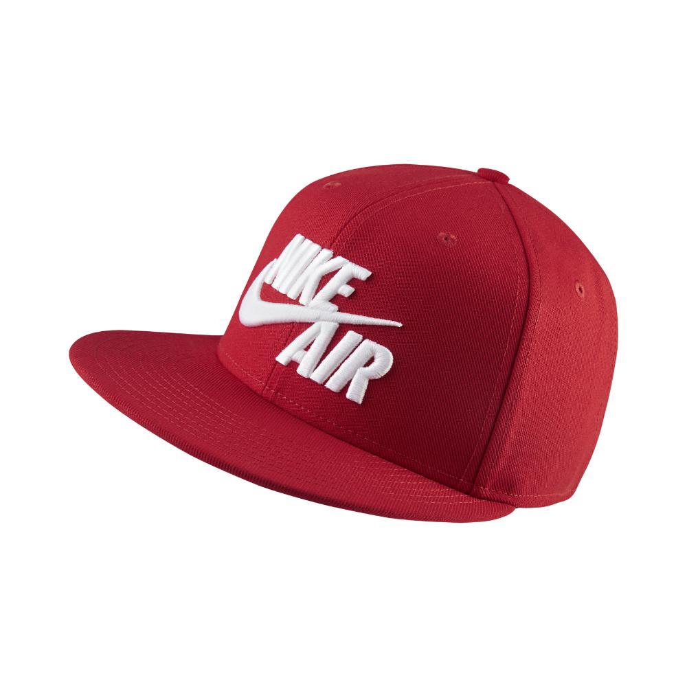 Lyst - Nike Sportswear Air True Snapback Hat (red) - Clearance Sale ... 90440bae523