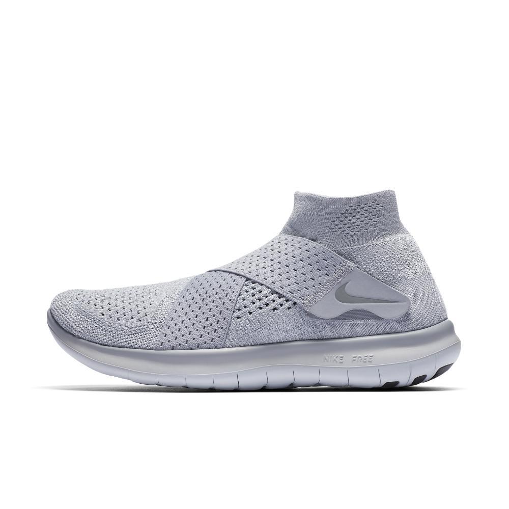 cad179be9b13e Lyst - Nike Free Rn Motion Flyknit 2017 Women s Running Shoe in Gray