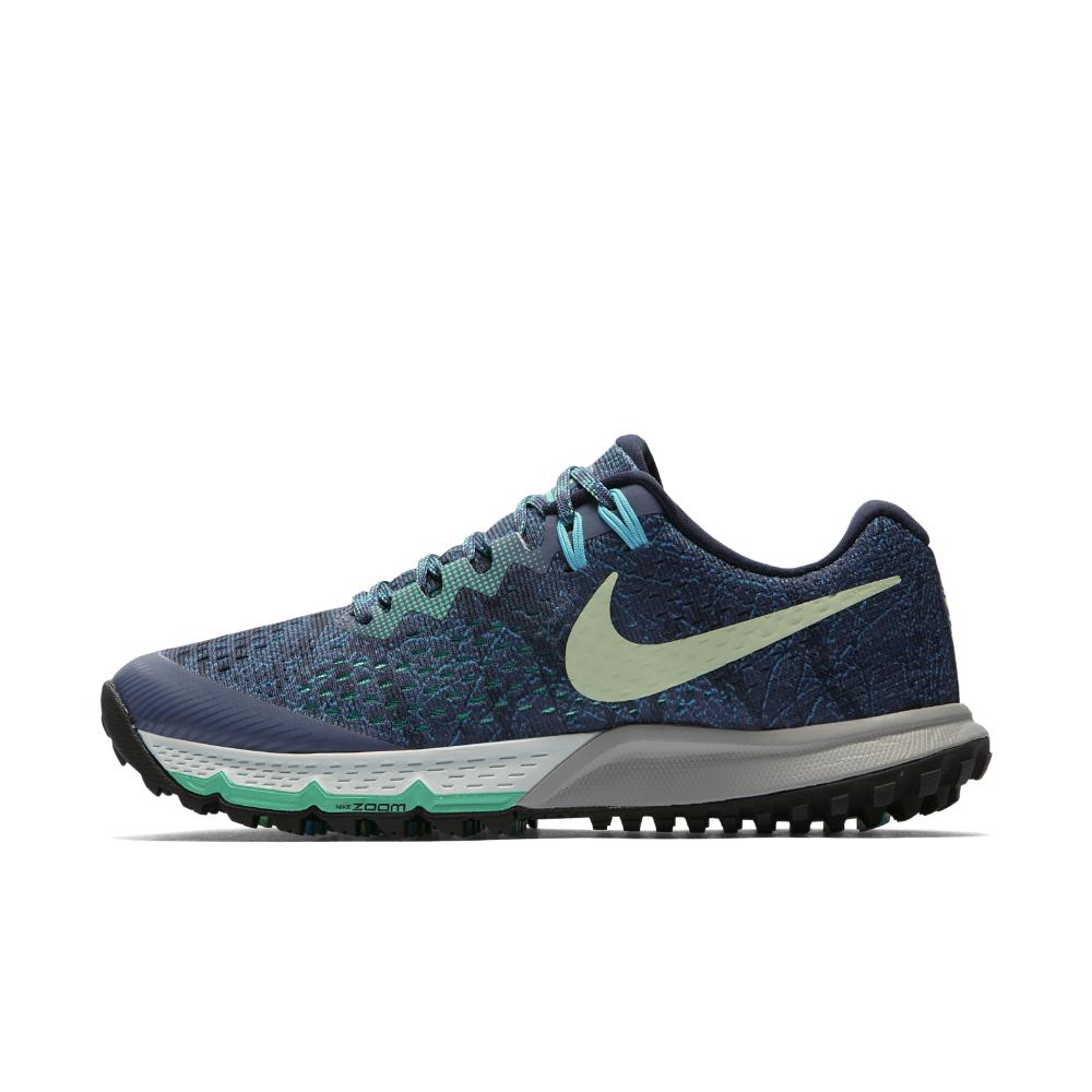 6e8b3a8b1fc8 Lyst - Nike Air Zoom Terra Kiger 4 Women s Running Shoe in Blue for Men