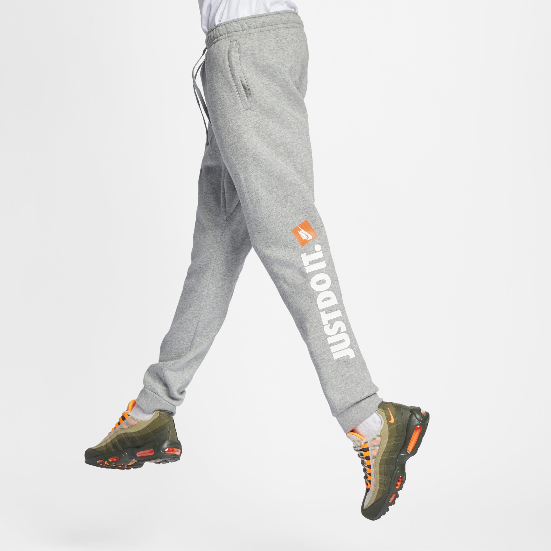 537bc4c499b1 Nike Sportswear Jdi Fleece Joggers in Gray for Men - Lyst