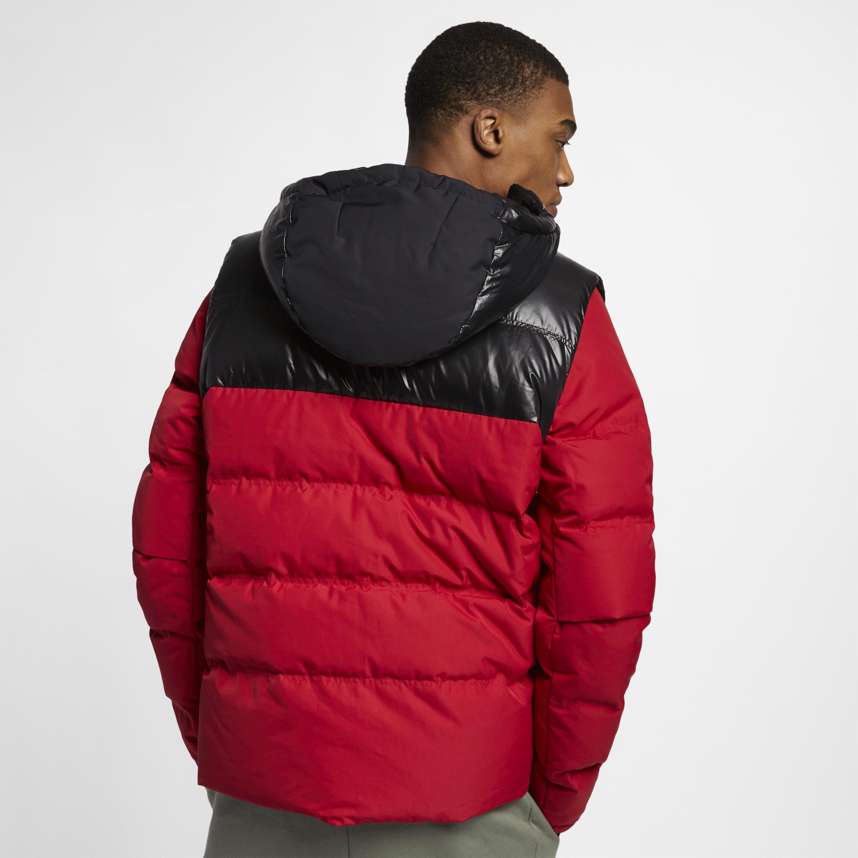 9b4079ffa2b6 Nike - Red Jordan Ultimate Flight Down-fill Jacket for Men - Lyst. View  fullscreen