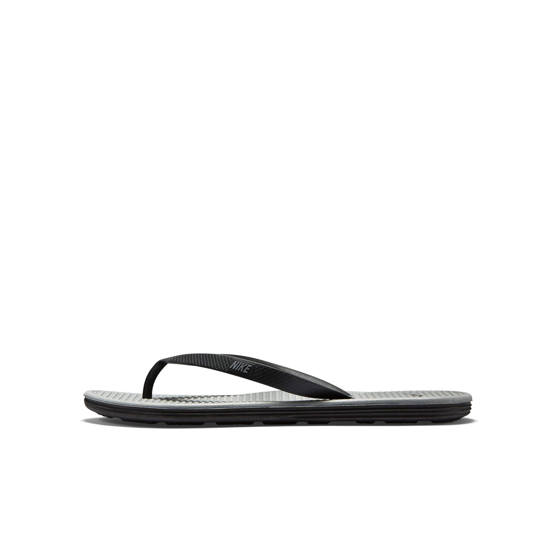 64c9400d0eb Nike - Black Solarsoft Ii Flip Flop for Men - Lyst. View fullscreen