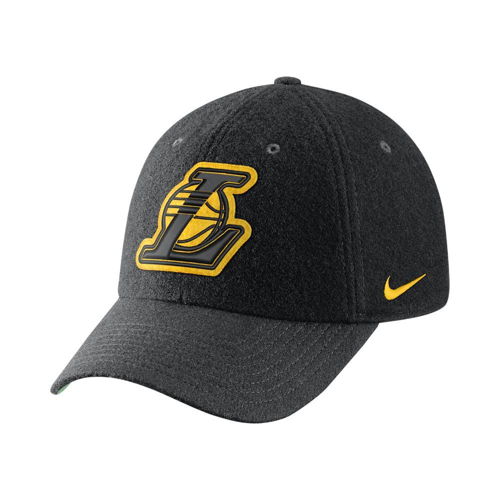 06c0ad12032 Lyst - Nike Los Angeles Lakers Heritage86 Nba Hat (black) in Black ...