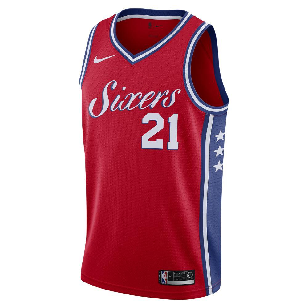 Nike. Red Joel Embiid Statement Edition Swingman Jersey (philadelphia 76ers)  Men s Nba Connected Jersey 2f8eaa800