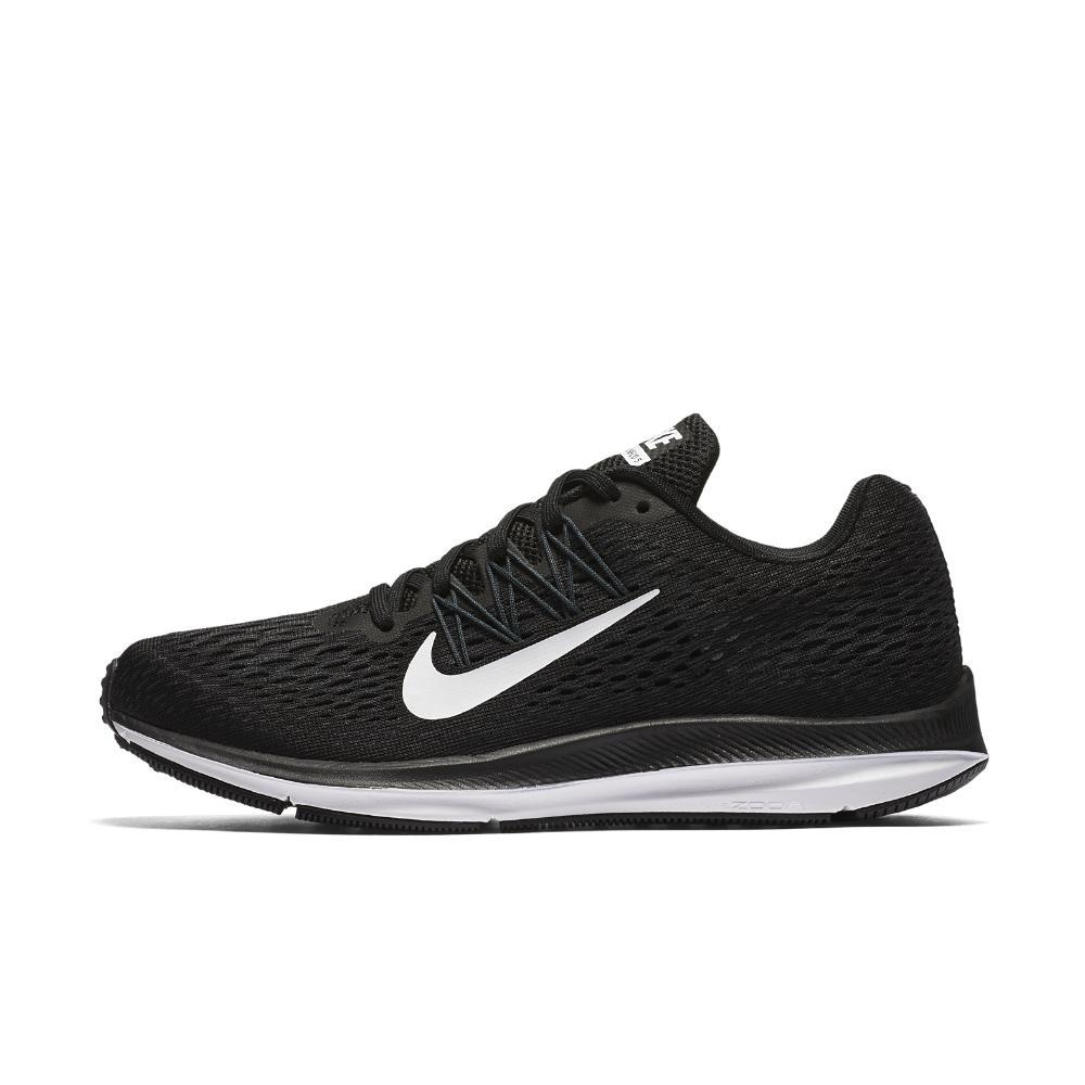 2b9228c5fcc2d Lyst - Nike Air Zoom Winflo 5 Women s Running Shoe in Black - Save 34%