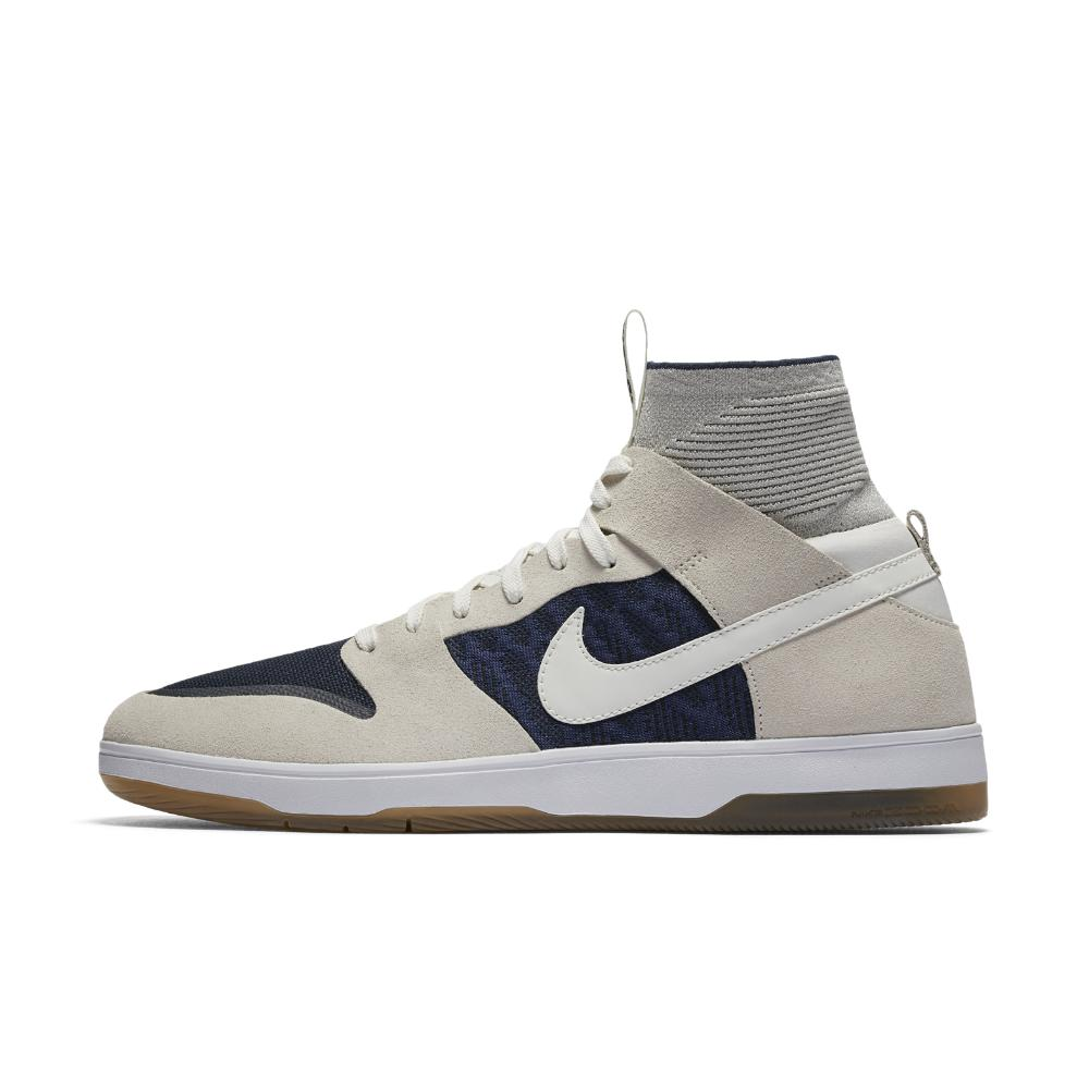 new product a8abc 65e6e ... uk lyst nike sb dunk high elite mens skateboarding shoe in blue for men  4b1eb 66381