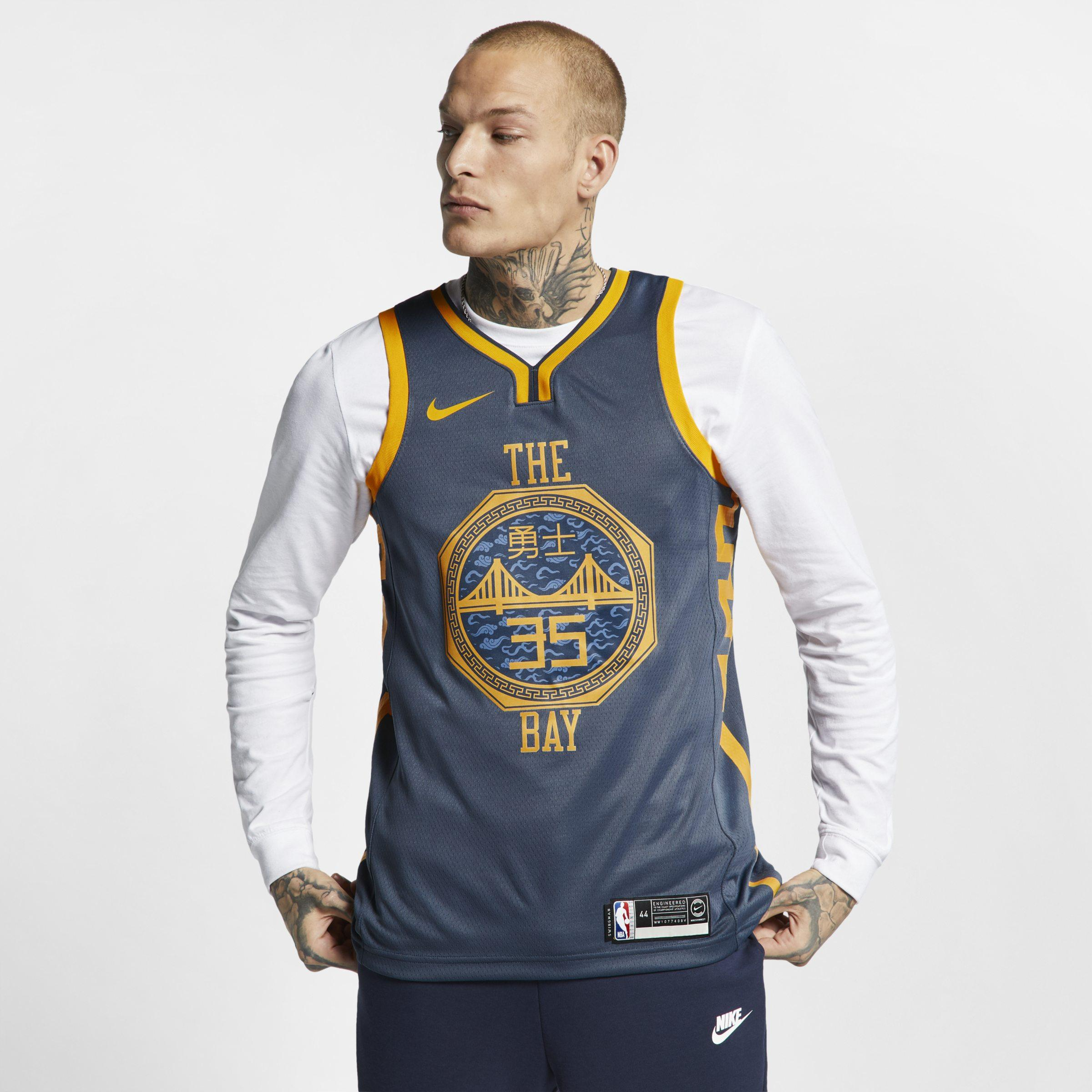 9039990e7 Nike Kevin Durant City Edition Swingman (golden State Warriors) Nba ...